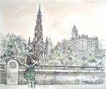 <h1>Piper in Edinburgh</h1>