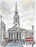 St Martin-in-the-Fields [ The famous church by Trafalgar Square ]